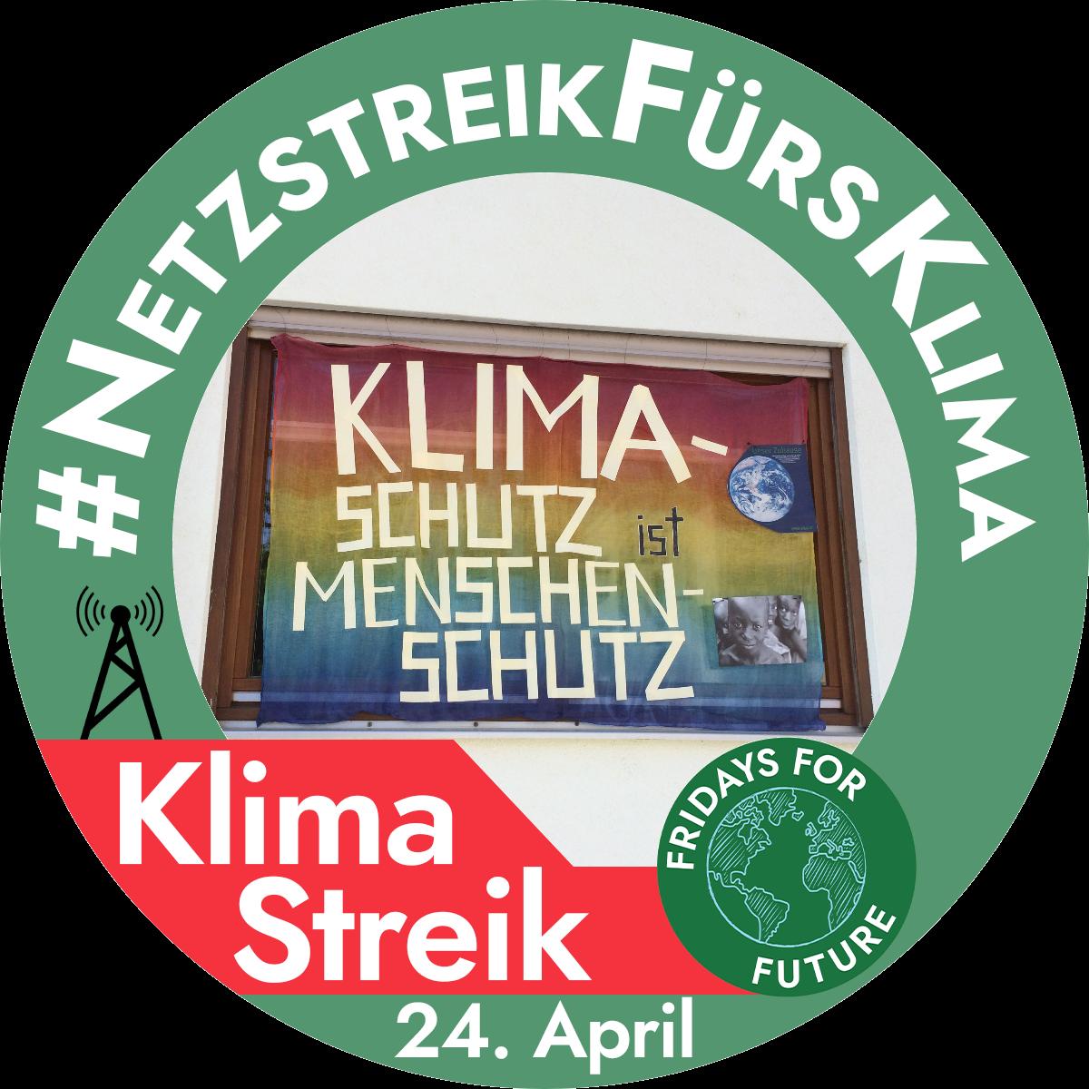 Das war die Klima-Demo am 24.4.20 – im Netz