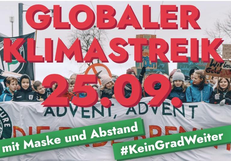 Globaler Klimastreik am 25.09.2020