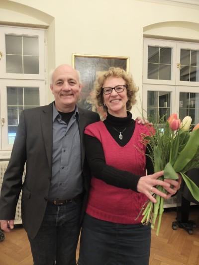 Alexander Schoch und Michaela Eckert