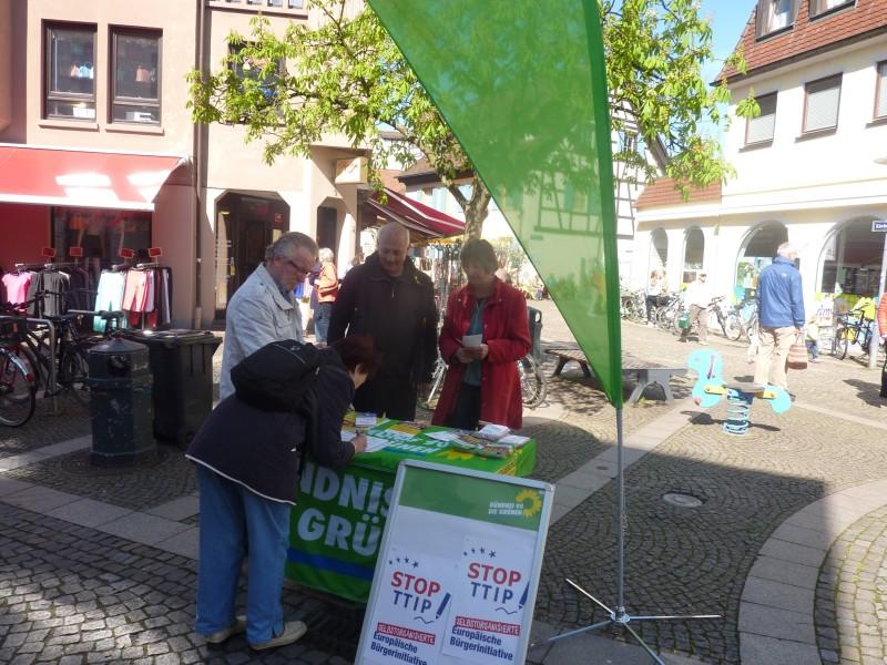 TTIP Aktion Emmendingen