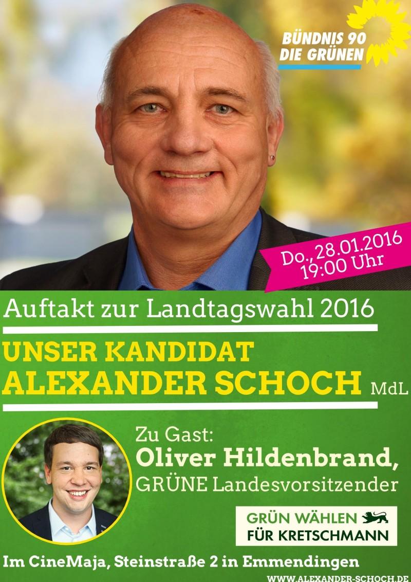 Auftakt zur Landtagswahl 2016