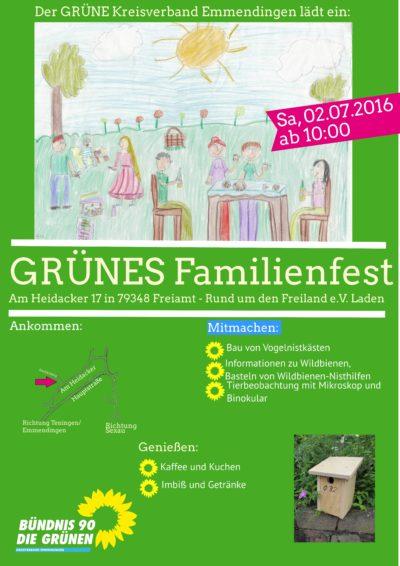 Grünes Familienfest 2016