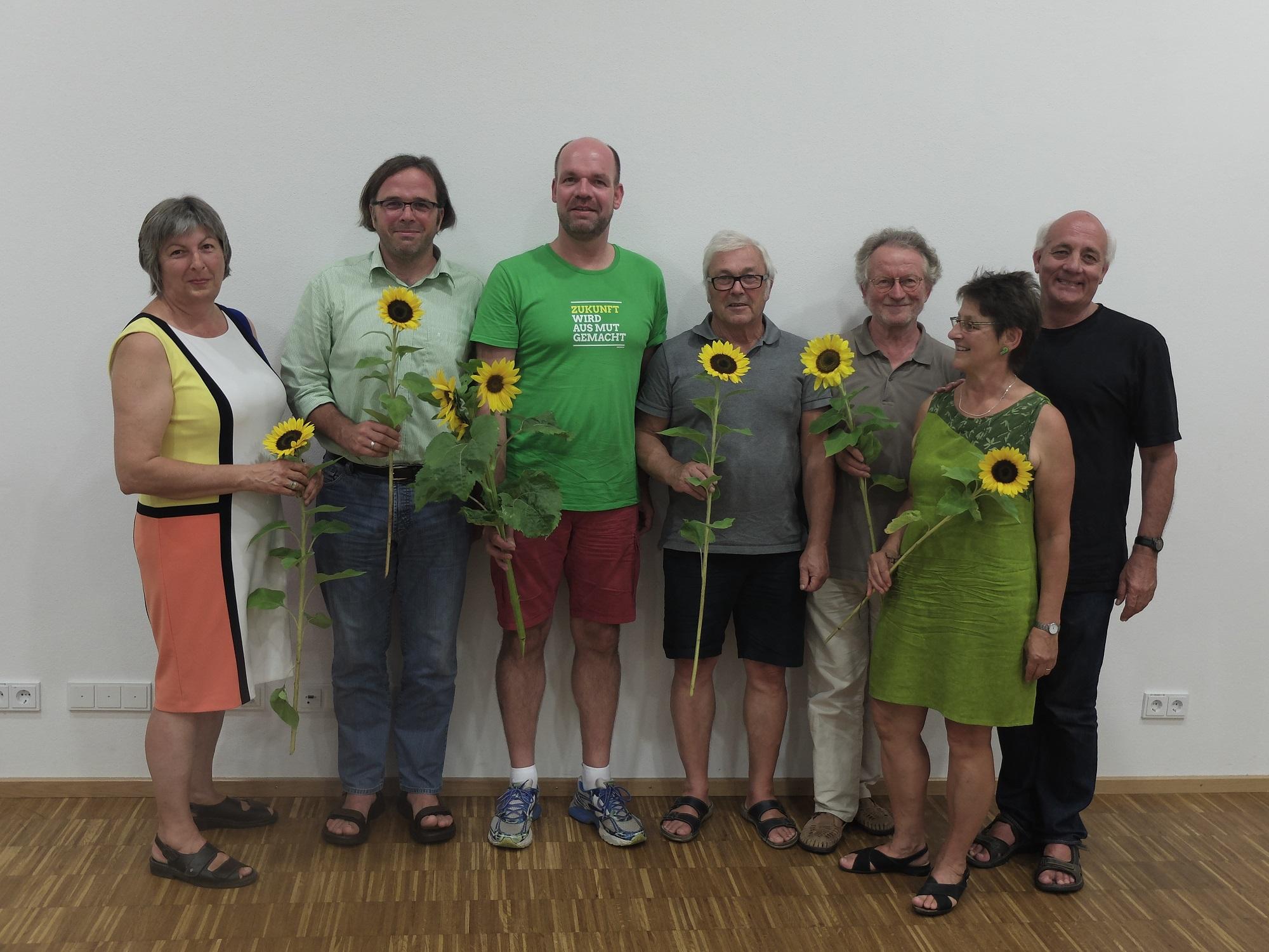 Markus Rasp und Carsten Gabbert bei der Sommer-Kreismitgliederversammlung