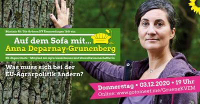 Auf dem Sofa mit.: Anna Deparnay-Grunenberg