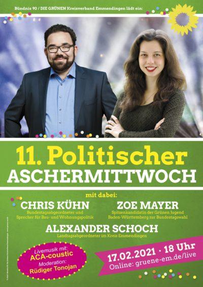 11. Politischer Aschermittwoch 2021