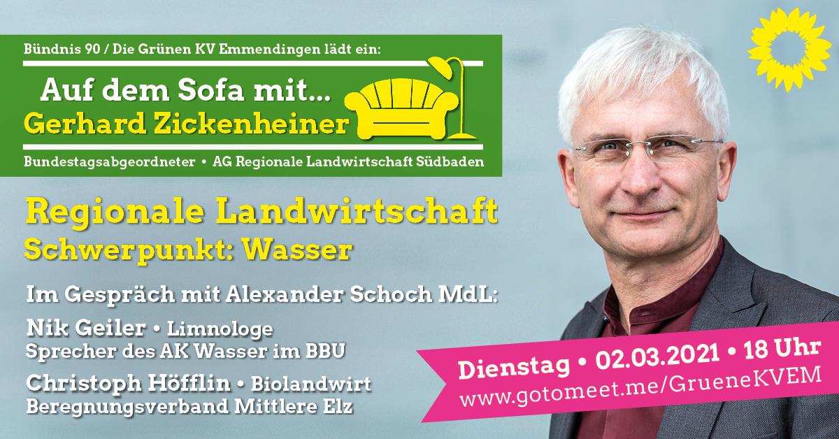 Auf dem Sofa mit…: Gerhard Zickenheiner MdB