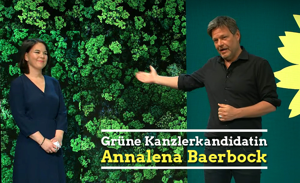 Annlena Baerbock ist Kanzlerkandidatin der Grünen