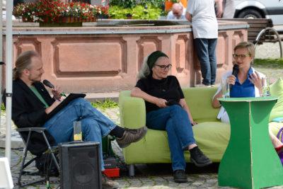 Auf dem Sofa mit...: Franziska und Heike