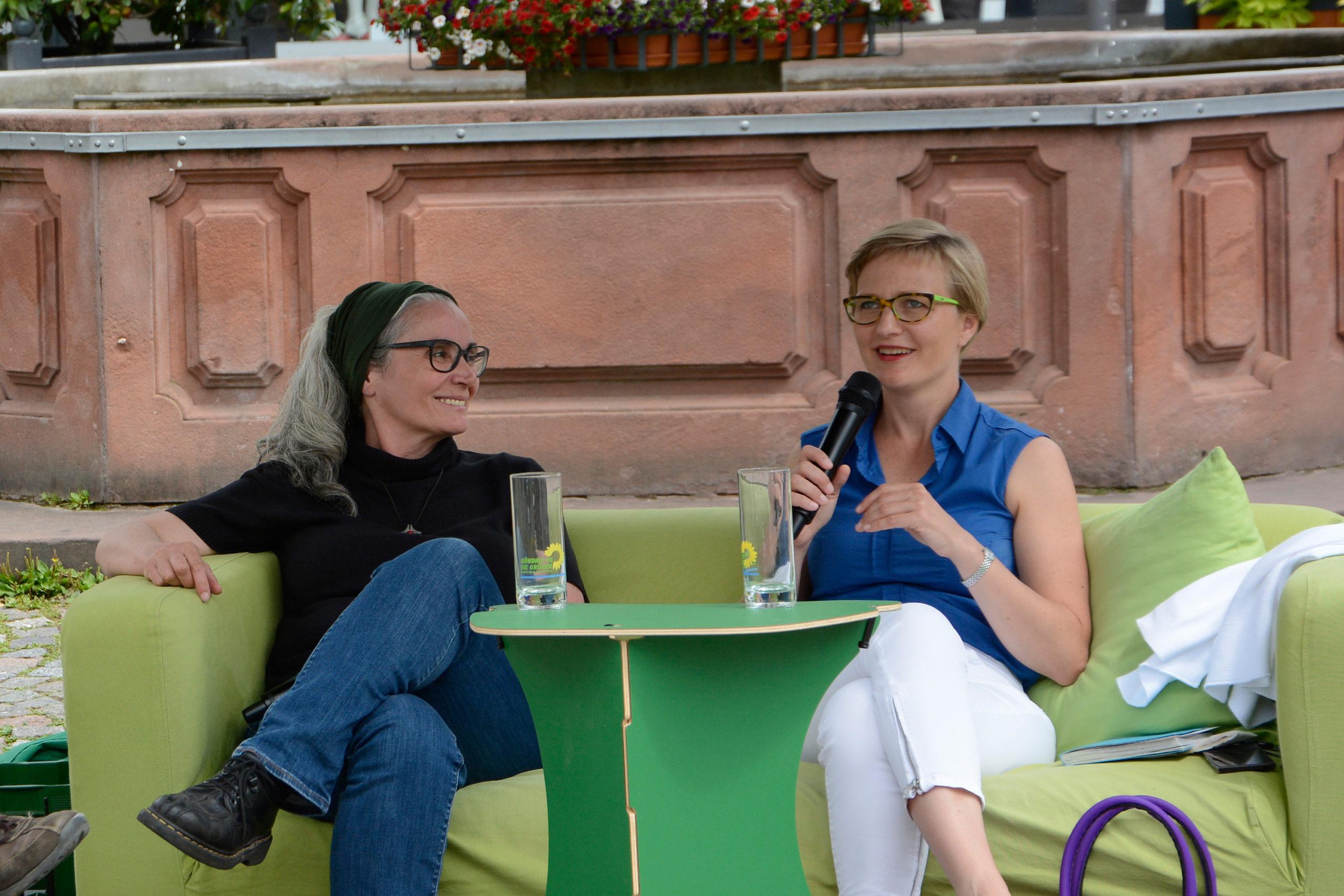 Auf dem Sofa mit…: Franziska und Heike