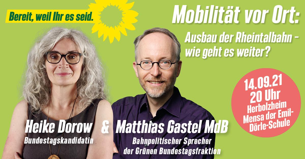 Mobilität vor Ort – Matthias Gastel MdB